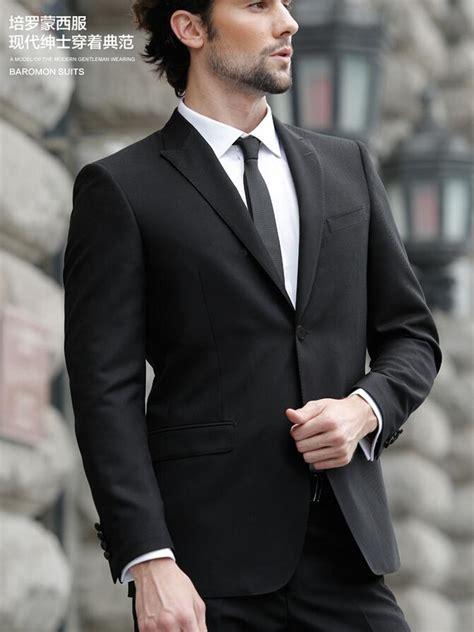 men039s business suit fashion best black simple fashion s suit one button s