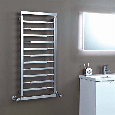 Vogue 1100mm X 500mm Designer Radiator Polished Chrome