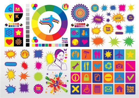 Colorful Vector Clip Art Vector Art & Graphics