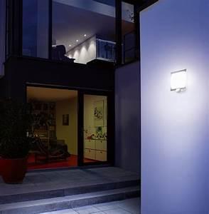 Steinel Bewegungsmelder Lampe : steinel au enleuchte l 20 silber wandleuchte mit 180 bewegungsmelder max 10 m reichweite ~ One.caynefoto.club Haus und Dekorationen