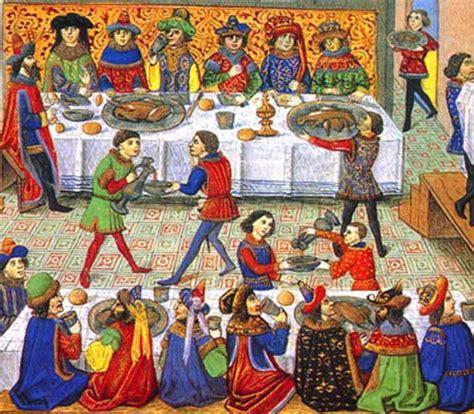 les banquets au moyen age moyen age banquet la route des gourmets
