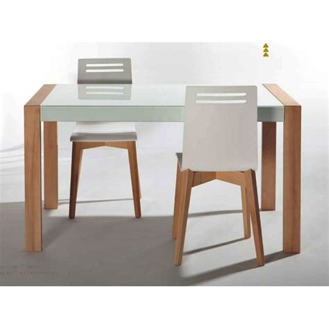 table de cuisine design table de cuisine en verre extensible