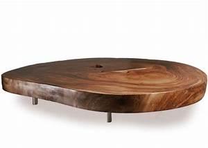 Table Bois Brut : table basse bois brut salon pinterest salons ~ Teatrodelosmanantiales.com Idées de Décoration