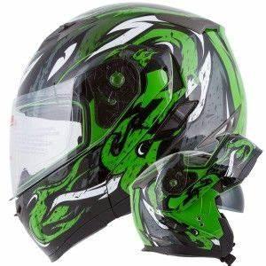 VIPER Modular Dual Visor Motorcycle Helmet IV2 Model 953