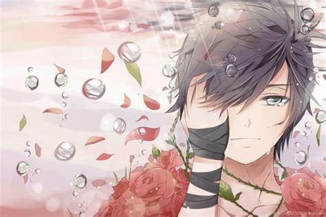 sad anime boy wallpaper wallpapertag