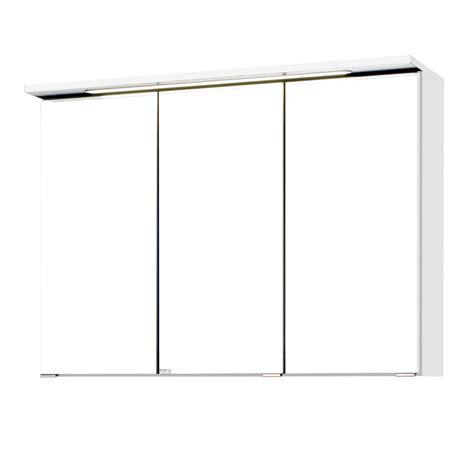 Badezimmer Spiegelschrank 90 Cm Breit by Bad Spiegelschrank Bologna 3 T 252 Rig Mit Led Lichtleiste