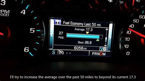 chevy silverado fuel economy mpg youtube