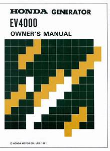 Ev4000 Manuals