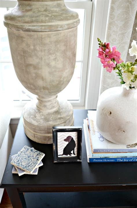 Style Entry Table Like Pro by How To Style An End Table Like A Pro Stonegable