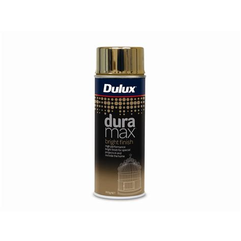 dulux duramax 300g bright finish gold spray paint