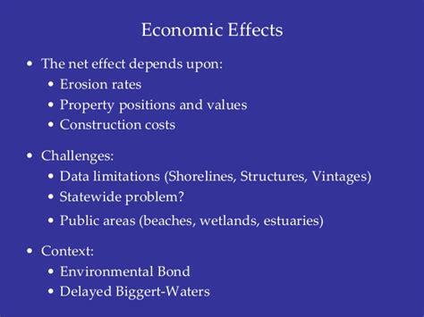 erosion  pollution  net economic  shoreline
