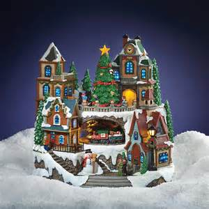 Christmas Village Ornaments Uk