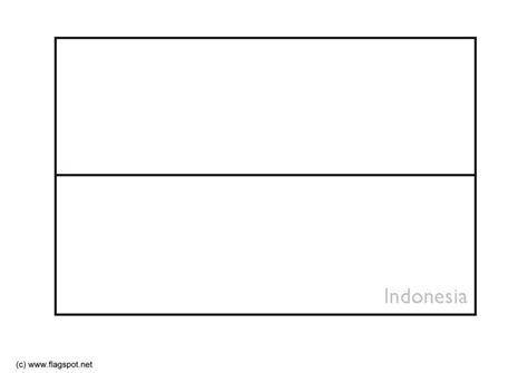 coloring page flag indonesia img  images
