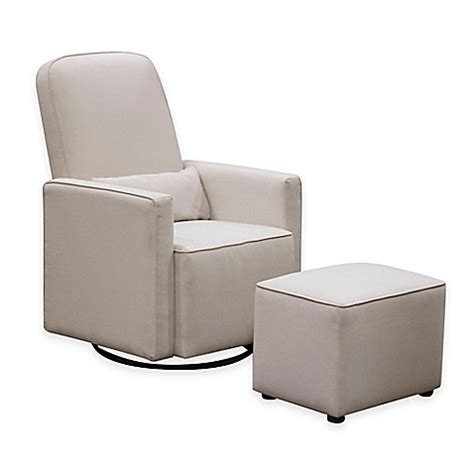 davinci olive upholstered swivel glider with ottoman buy davinci olive upholstered swivel glider with ottoman
