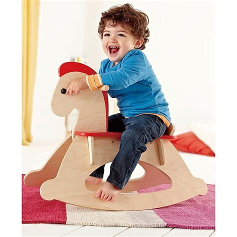 rock  ride rocking horse baby ride  toy educational