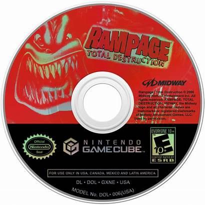 Destruction Total Rampage Launchbox Disc