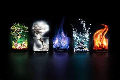 Teorija - Pet Elementov (zemlja, les, voda, kovina, ogenj)