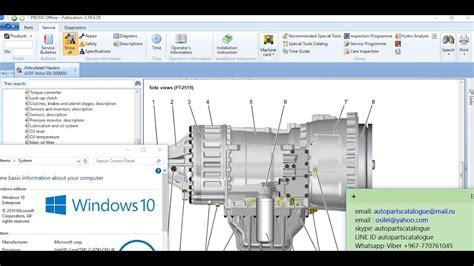 Volvo Prosis System Parts Catalog Workshop
