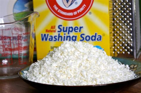 washing soda make your own laundry detergent powder detergent recipe natural thrifty