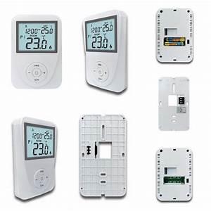Keypad Lockout Gas Heater Thermostat Green Backlight