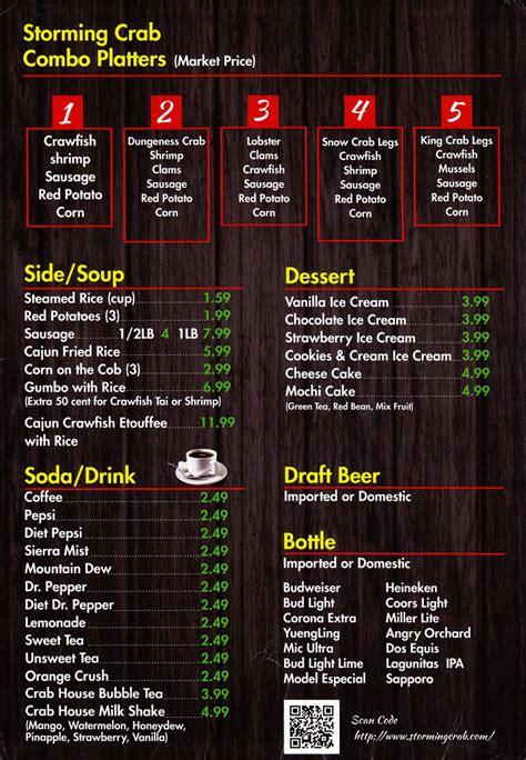 See menus, ratings and reviews for restaurants in missouri. Whereisthemenu.net   Storming Crab - Clarksville, TN 37040
