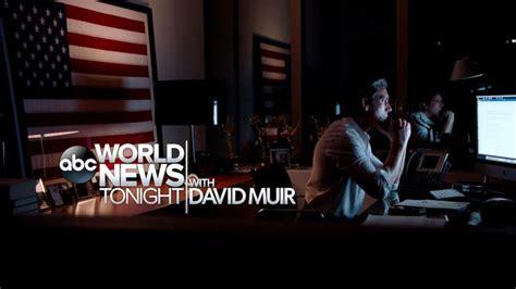 ABC 'World News Tonight with David Muir' Video - ABC News