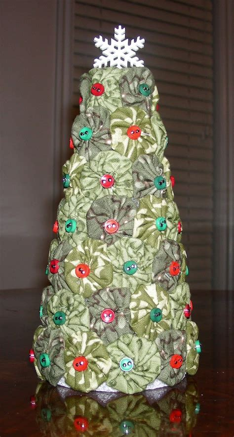 fabric friendzy quilt shop fun yo yo christmas tree yo
