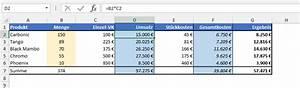 Deckungsbeitrag 2 Berechnen : planspiele mit verschiedenen szenarien der tabellen experte ~ Themetempest.com Abrechnung