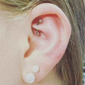 rook piercing  ideas pain level healing time cost