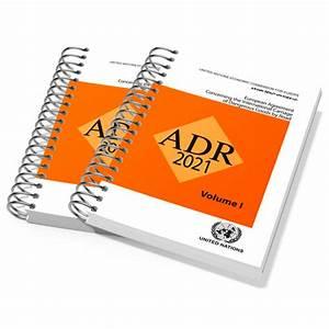 Adr 2021 European Agreement  Spiral Bound Manual