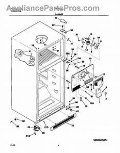 Frigidaire 241652215 Cover  Evaporator Coil