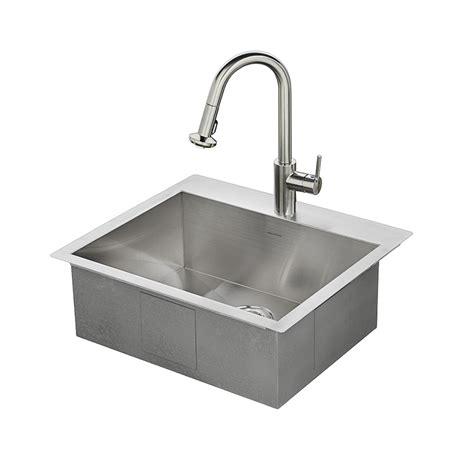 all in one sink shop american standard memphis 25 in x 22 in single basin