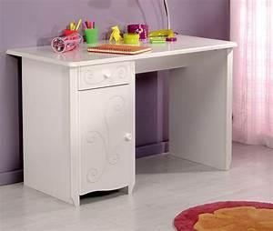 Bureau Enfant En Bois : bureau enfant en bois blanc meg ve bu1005 ~ Teatrodelosmanantiales.com Idées de Décoration