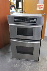 Superba Oven by Kitchen Aid Superba Stainless Steel Microwave Wall Oven