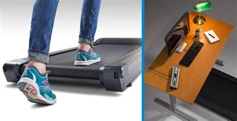 compact under desk treadmill walking desk treadmill workplace fitness lifespan