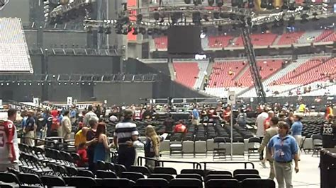 wwe wrestlemania  empty univ  phoenix stadium