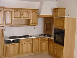 Cuisine Bois Massif : cuisine rustique bois massif images ~ Premium-room.com Idées de Décoration
