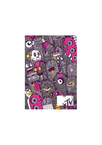 Mtv Behance Sketchbook Diogo Machado Graffiti Doodle