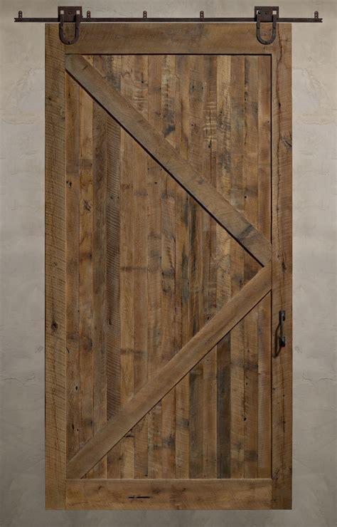 diy barn door reclaimed sliding barn doors a solid design statement