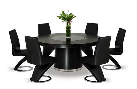 black table restaurant houston modern black dining table