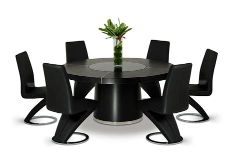 modern black table l houston modern black dining table