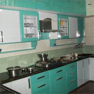 Indian kitchen furniture design designcorner for Furniture for kitchen in india