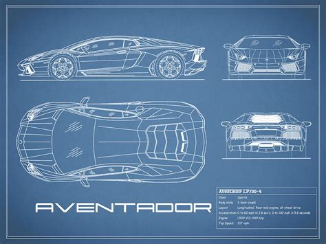 home interior design com the aventador blueprint photograph by rogan