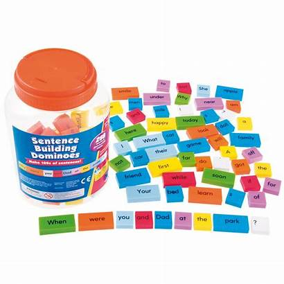 Sentence Building Word Tiles Learning Sorry Resources