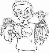 Coloring Toy Story Woody Pages Jessie Buzz Lightyear Drawing Printable Disney Google Rocks Colouring Sheets Awesome Sid Jesse Getcoloringpages Toys sketch template