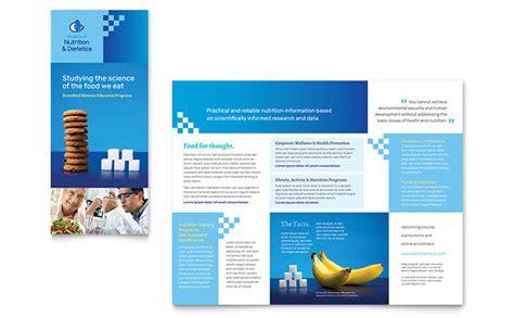 tri fold brochure template word publisher dietitian tri fold brochure template word publisher