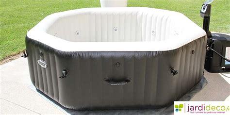 quel spa gonflable choisir traiter spa gonflable traitement de l eau officiel jardideco
