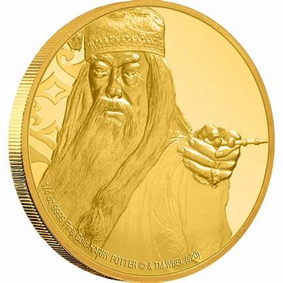 Dumbledore Albus Coins Coin Gold Mint Collectible