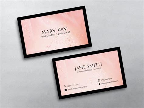mary kay business cards  imagenes plantillas