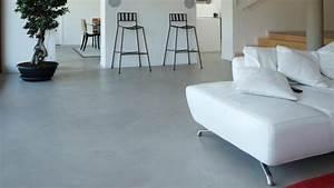 beton cire archives du beton dans la maison With recouvrir carrelage sol béton ciré